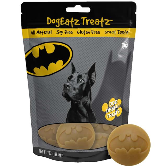 Team Treatz DogEatz Treatz Batman Dog Dental Treats, 7 oz. - Carousel image #1