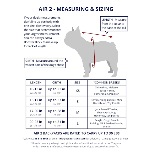 """K9 Sport Sack Air 2 Grey Backpack Dog Carrier, 9"""" L X 8"""" W X 15"""" H - Carousel image #1"""