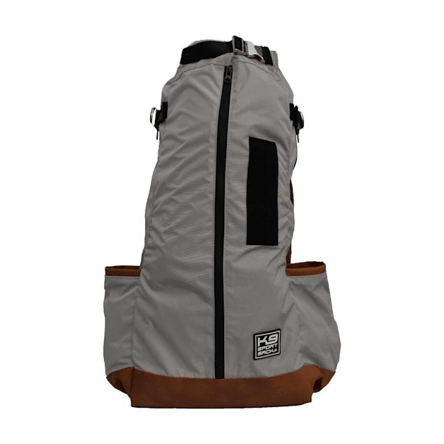"K9 Sport Sack Urban 2 Grey Backpack Dog Carrier, 9"" L X 8"" W X 15"" H - Carousel image #1"