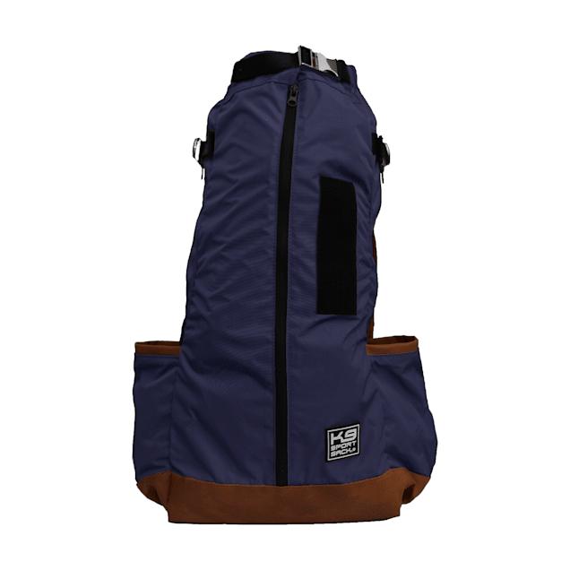 "K9 Sport Sack Urban 2 Navy Backpack Dog Carrier, 10"" L X 9"" W X 17"" H - Carousel image #1"