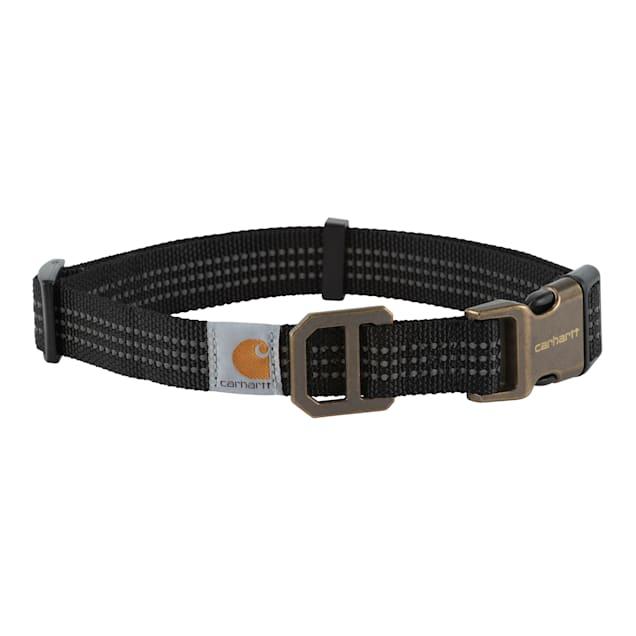 Carhartt Black Dog Collar, Medium - Carousel image #1