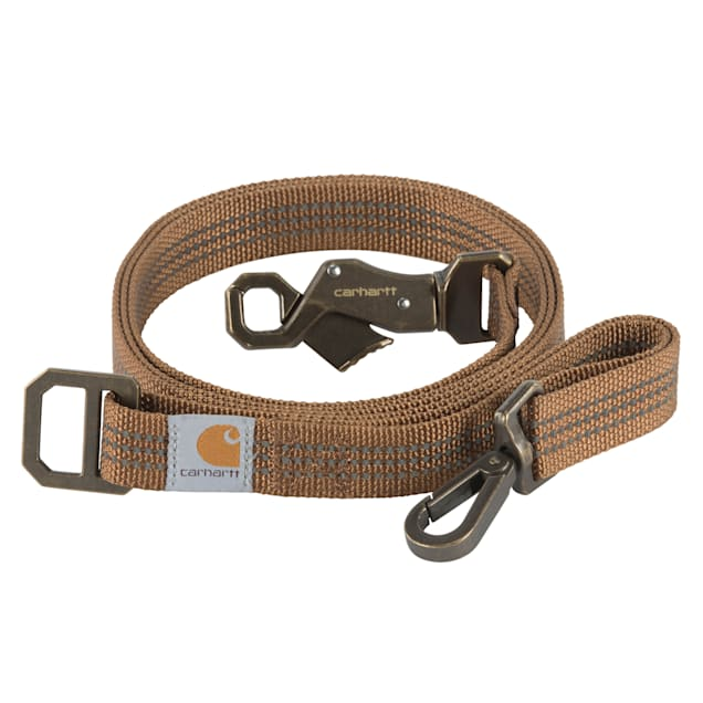 Carhartt Brown Dog Leash, Small - Carousel image #1
