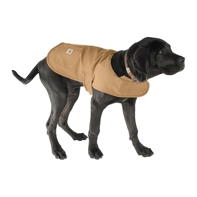 Carhartt Brown Chore Coat for Dogs, Small - Carousel image #1