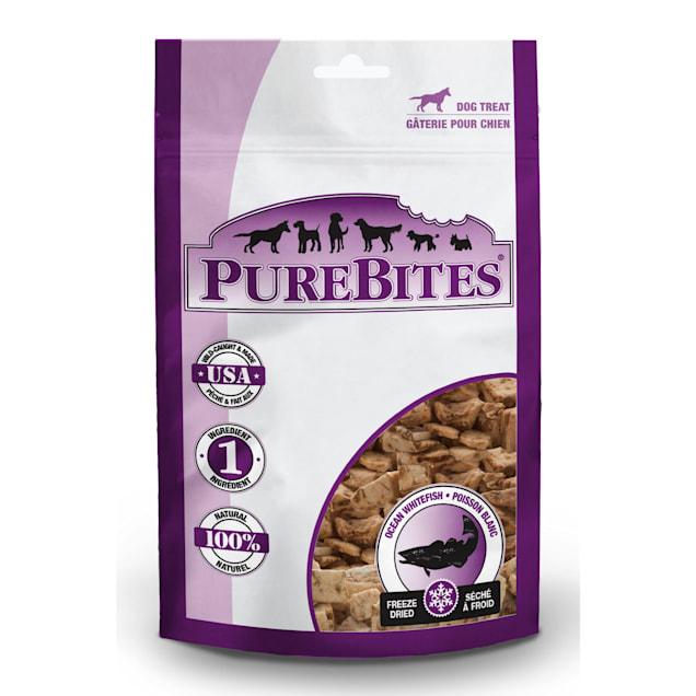 Purebites Ocean Whitefish Dog Treats, 3.7 oz. - Carousel image #1