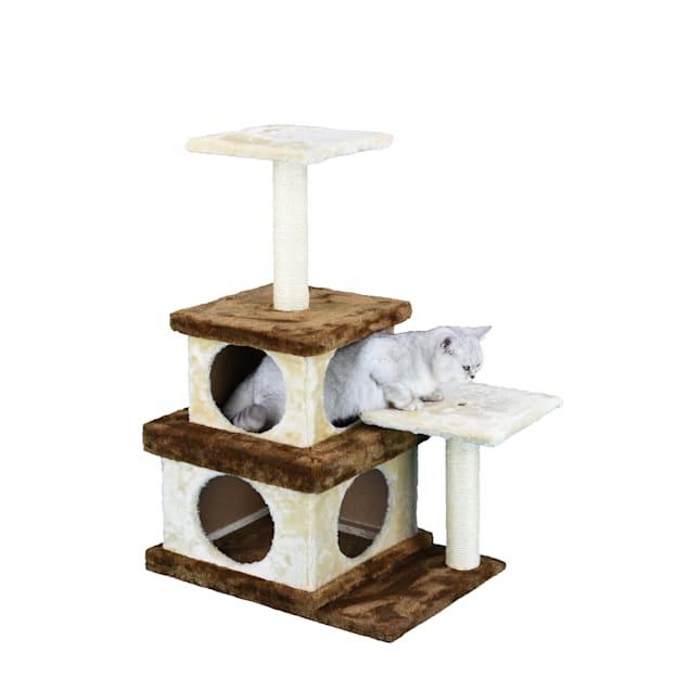 "Go Pet Club Economical Cat Tree House HC-005, 32"" H - Carousel image #1"