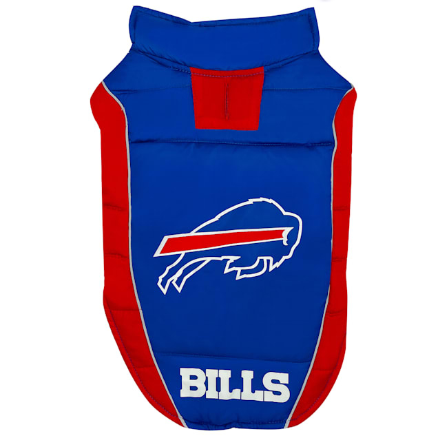 Pets First Buffalo Bills Puffer Vest for Dogs, Small - Carousel image #1
