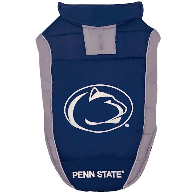 Pets First Penn State Puffer Vest for Dogs, Small - Carousel image #1