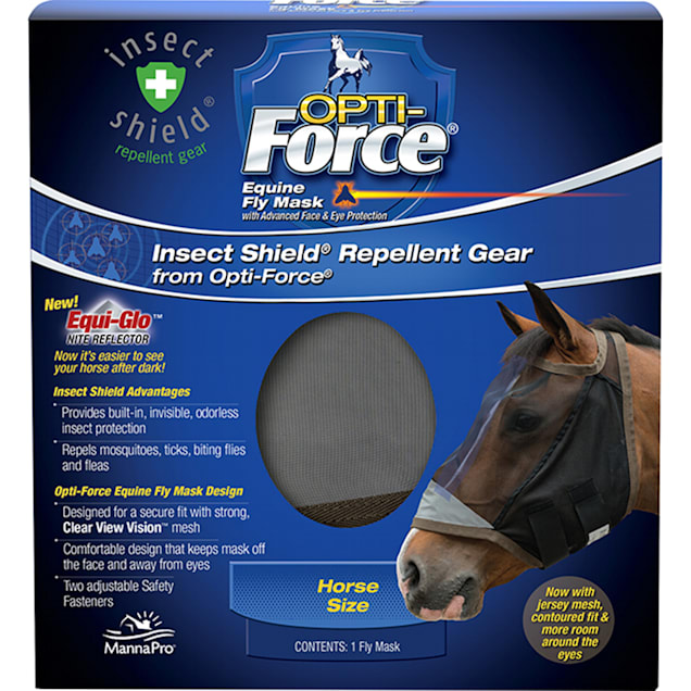 Manna Pro Opti-Force Insect Shield Equine Repellent Gear - Carousel image #1