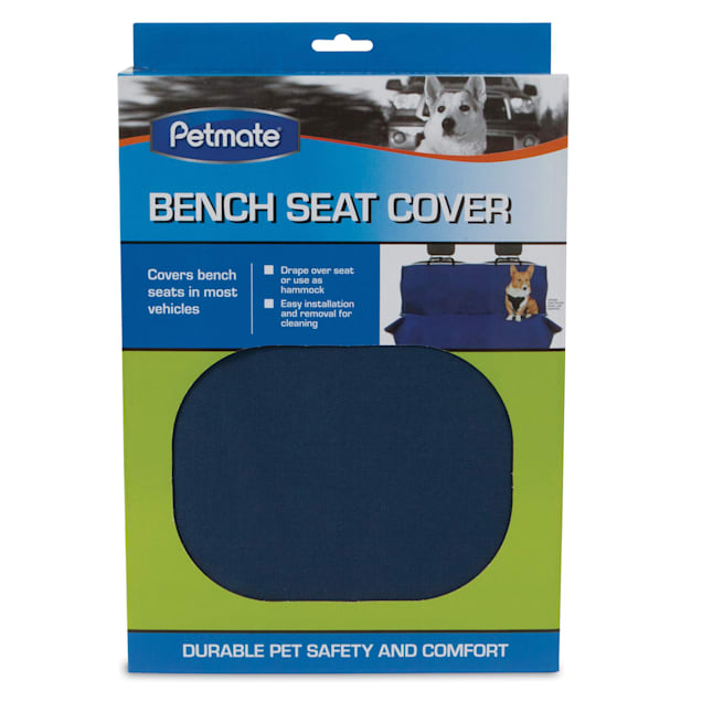 Petmate Blue Bench Car Seat Cover, Large - Carousel image #1