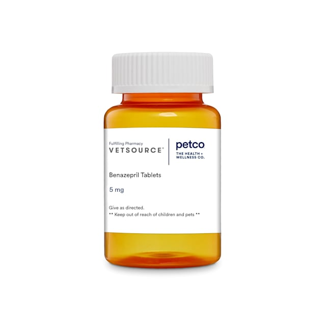 Benazepril (Generic) 5 mg, 15 Tablets - Carousel image #1