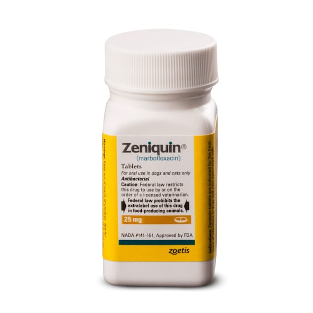 Zeniquin 25 mg, 15 Tablets - Carousel image #1