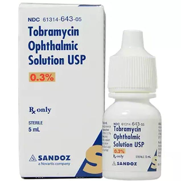 Tobramycin Ophthalmic Solution 0.3%, 5 mL - Carousel image #1