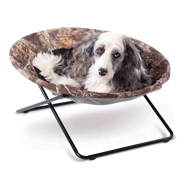 """K&H Realtree Edge Elevated Cozy Pet Cot, 30"""" L - Carousel image #1"""