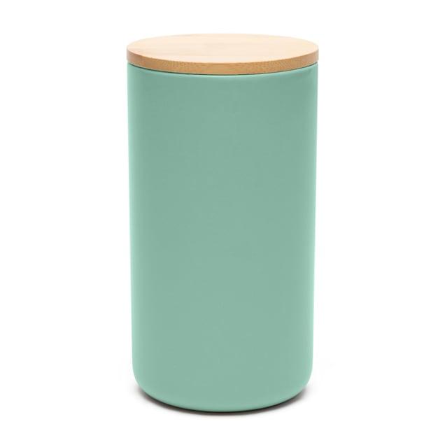 Waggo Mint Simple Solid Dog Treat Jar - Carousel image #1