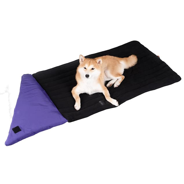 """Dog Helios Purple 'Expedition' Sporty Travel Camping Pillow Dog Bed, 37.4"""" L X 23.62"""" W - Carousel image #1"""