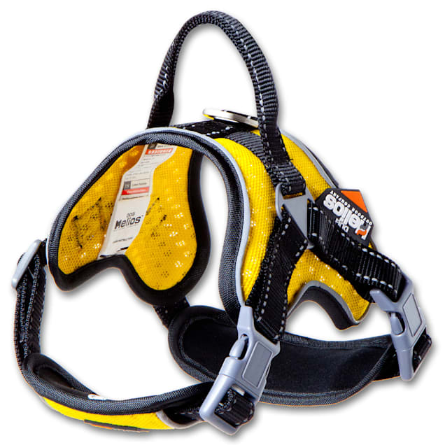 Dog Helios Yellow 'Scorpion' Sporty High-Performance Free-Range Dog Harness, Small - Carousel image #1