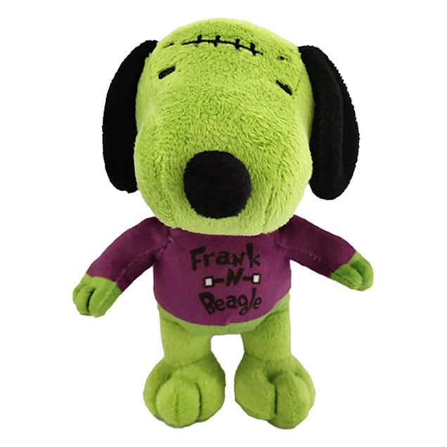 Fetch for Pets Snoopy Halloween FrankNbeagle Plush Squeaky Dog Toy, Small - Carousel image #1