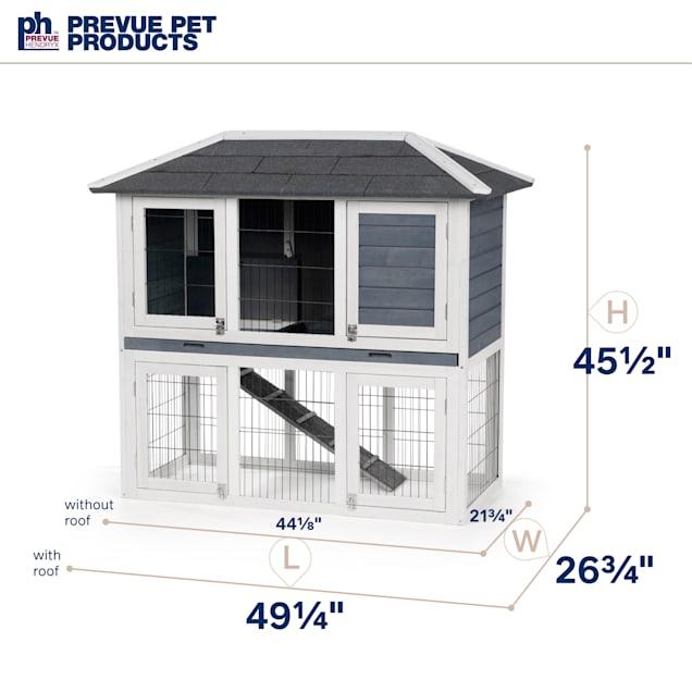 Prevue Pet Products Rabbit Hutch Duplex - Carousel image #1