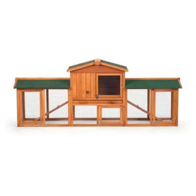 Prevue Pet Products Rabbit Hutch with Double Run - Carousel image #1