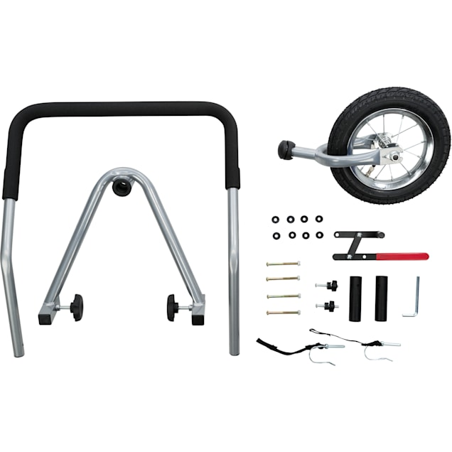 TRIXIE Bike Trailer/Stroller Conversion Kit for Dogs, Large - Carousel image #1