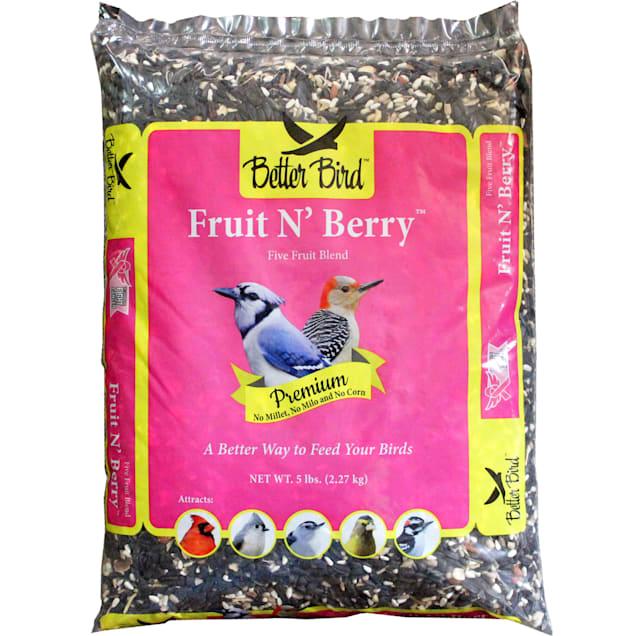 Better Bird Fruit N Berry Blend Wild Bird Food, 5 lbs. - Carousel image #1