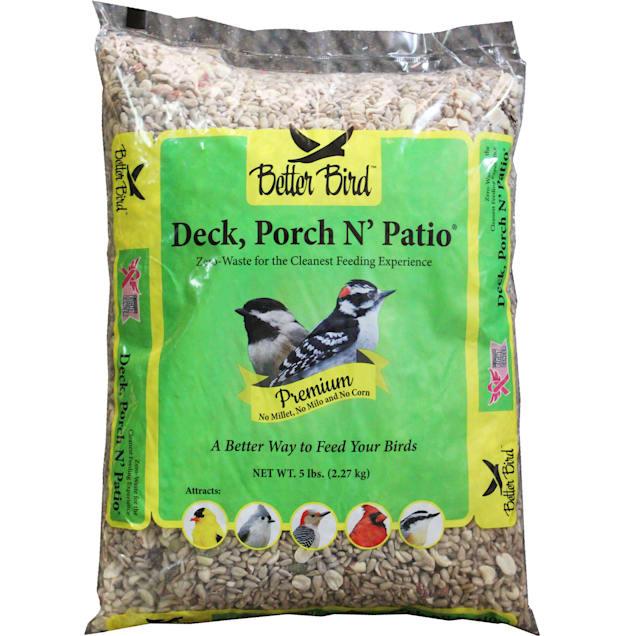 Better Bird Deck Porch N Patio Wild Bird Food, 5 lbs. - Carousel image #1