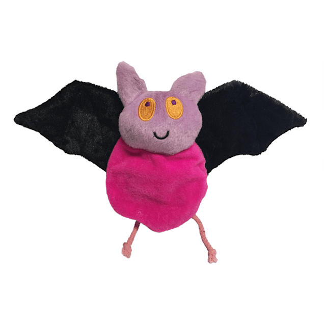 Fetch Pet Products Hatchables Pink Bat-O-Lantern Halloween Inside-Out Dog Toy, Large - Carousel image #1