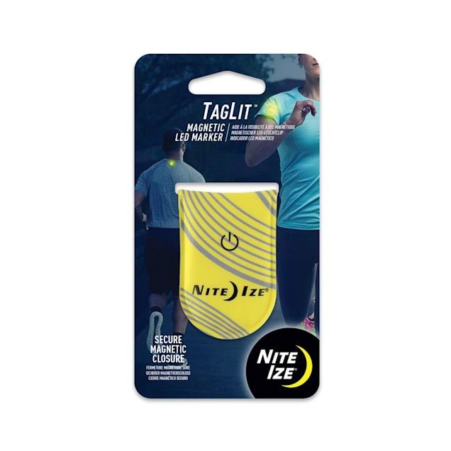 Nite Ize Innovation Neon Yellow TagLit Magnetic LED Marker - Carousel image #1