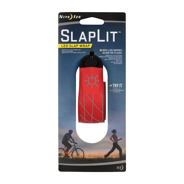 Nite Ize Innovation Red SlapLit LED Slap Wrap - Carousel image #1