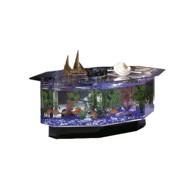 Midwest 28 Gallon Tropical AquaTable Aquarium Octagon - Carousel image #1