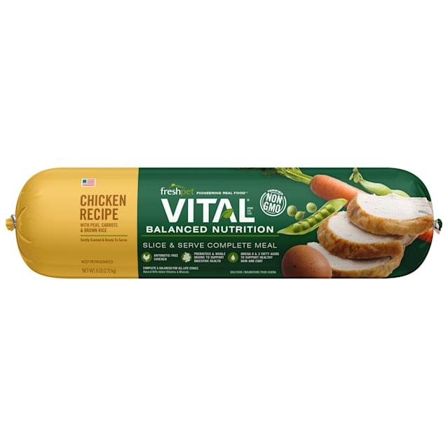 Freshpet Vital Balanced Nutrition Chicken and Whole Grain Fresh Dog Food, 6 lbs. - Carousel image #1
