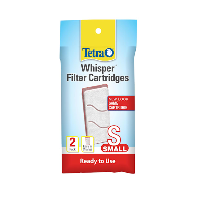 Tetra Whisper Bio-Bag Disposable Filter Cartridges, Small, Pack of 2 - Carousel image #1