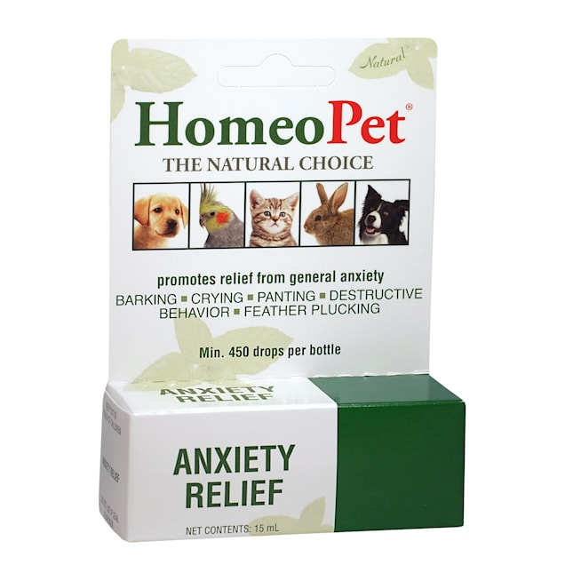 HomeoPet Anxiety Relief Natural Homeopathic Remedy for Pets, 0.5 oz. - Carousel image #1