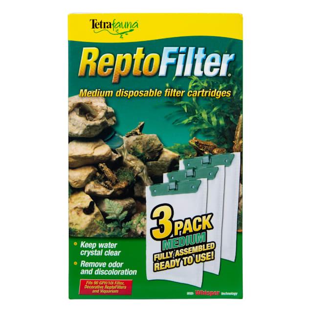 Tetra Fauna Medium Filter Cartridge Refills Reptofilter Cartridges, 3 Count - Carousel image #1