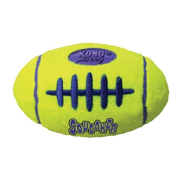 Air KONG Squeaker Football Dog Toy, Small - Carousel image #1