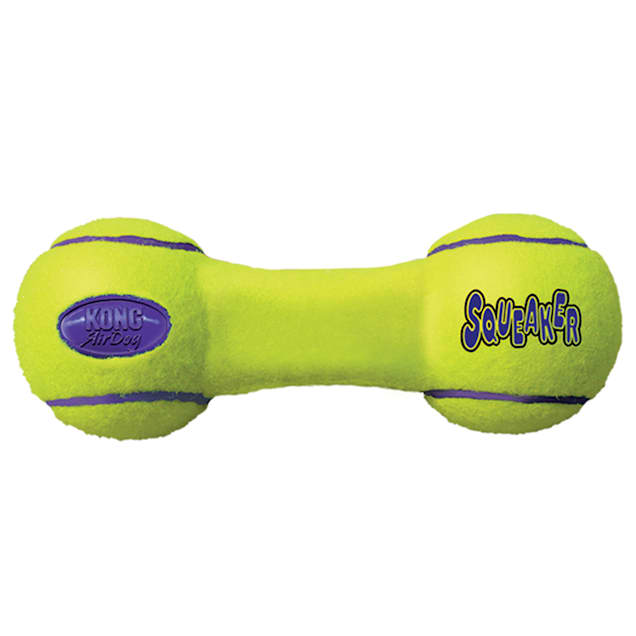 Air KONG Dumbbell Squeaker Dog Toy, Small - Carousel image #1
