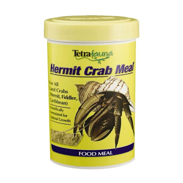 Tetra Fauna Hermit Crab Meal Food Powder For All Land Crabs, 5.6 oz. - Carousel image #1