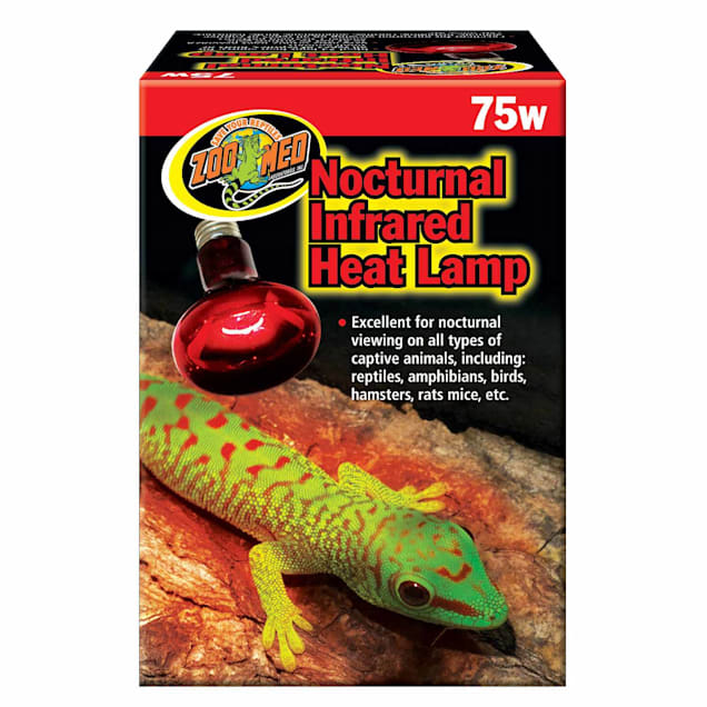 Zoo Med Nocturnal Infrared Heat Lamp, 75 Watts - Carousel image #1