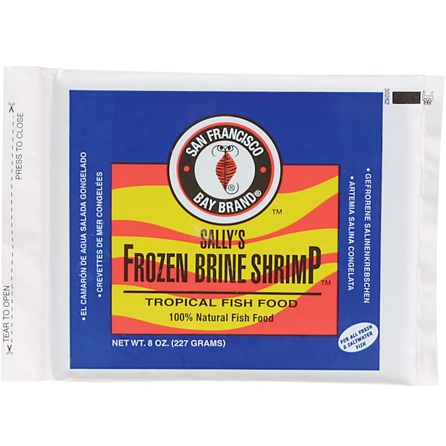 San Francisco Bay Brand Fr ozen Brine Shrimp, 8 oz. - Carousel image #1