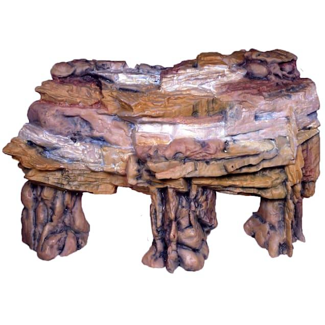 """Penn Plax Deco Replica Grotto Cliff Ornament, 9.5"""" L X 3.75"""" W X 4.25"""" H - Carousel image #1"""
