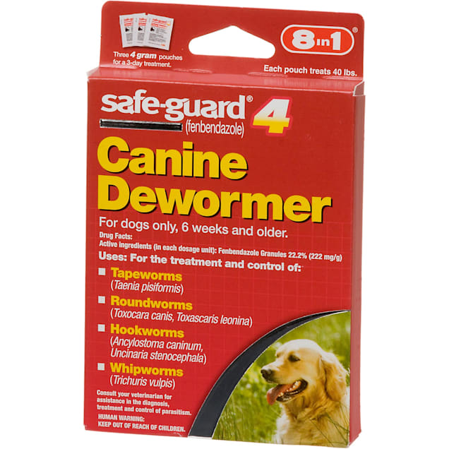 8 in 1 safe-guard 4 Canine Dewormer for Large Dogs - Carousel image #1