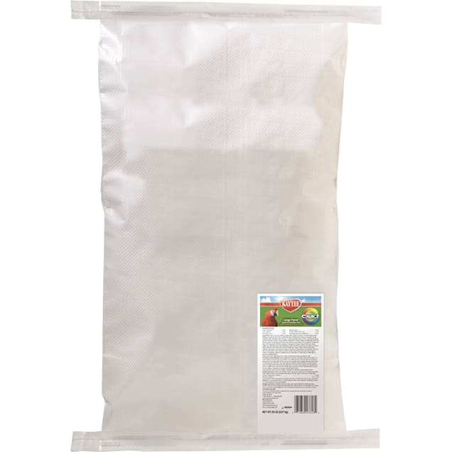 Kaytee Exact Rainbow Chunky Complete Daily Diet for Large Parrots - Carousel image #1