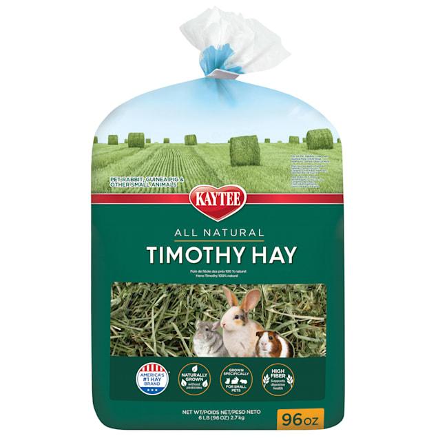 Kaytee Natural Timothy Hay for Rabbits & Small Animals, 96 oz. - Carousel image #1