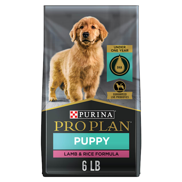 Purina Pro Plan Real Meat Lamb & Rice Formula Dry Puppy Food, 6 lbs. - Carousel image #1