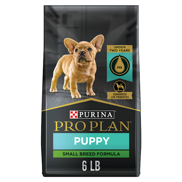 Purina Pro Plan High Protein Small Breed Chicken & Rice Formula Dry Puppy Food, 6 lbs. - Carousel image #1