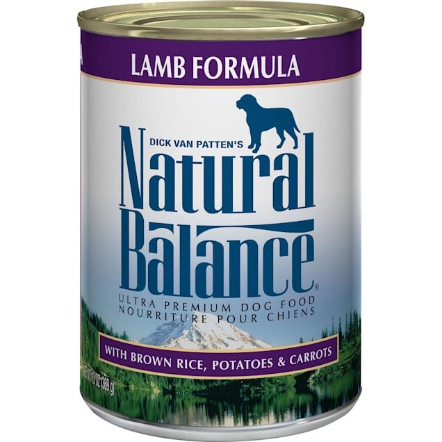 Natural Balance Ultra Premium Lamb Formula Wet Dog Food, 13 oz., Case of 12 - Carousel image #1