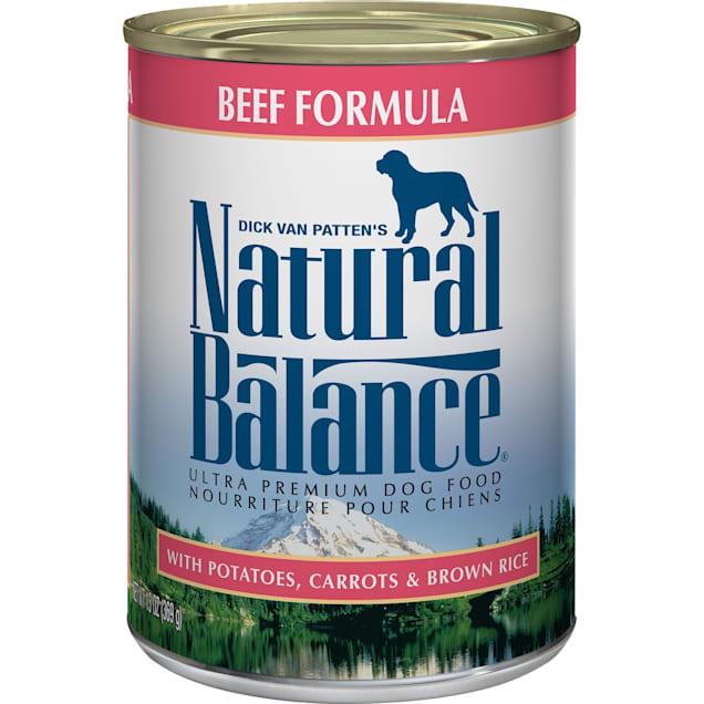 Natural Balance Ultra Premium Beef Formula Wet Dog Food, 13 oz., Case of 12 - Carousel image #1