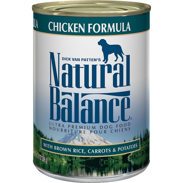 Natural Balance Ultra Premium Chicken Formula Wet Dog Food, 13 oz., Case of 12 - Carousel image #1
