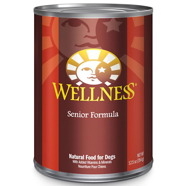 Wellness Complete Health Natural Senior Recipe Wet Dog Food, 12.5 oz., Case of 12 - Carousel image #1