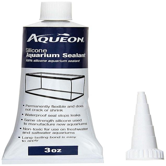 All-Glass Clear Silicone Aquarium Sealant, 3 oz. - Carousel image #1